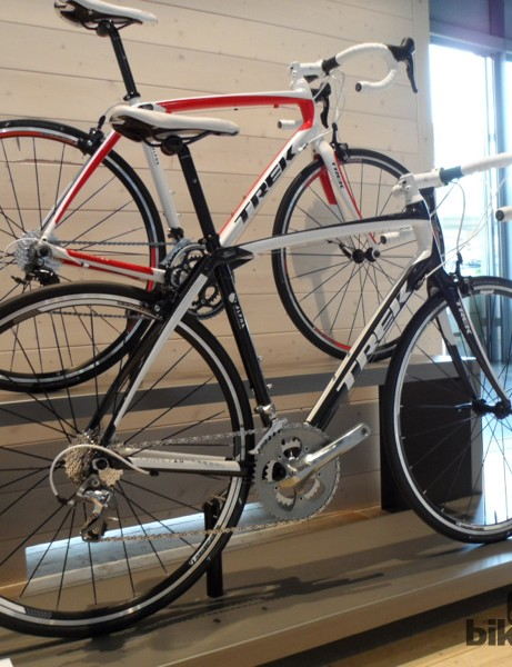 The Domane's soft tail design is available in aluminium too, with the £1,000/$1,561 2.0