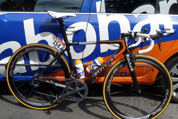Mark Renshaw's Giant TCR Advanced SL 0 got a 5* review on BikeRadar - and it could soon be yours
