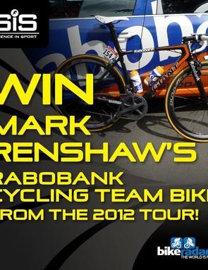 Win Mark Renshaw's Tour de France bike