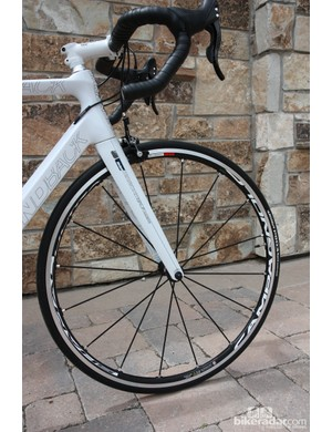 Buyers will pay a premium for the Campagnolo spec on the Diamondback Podium 6 Campy variant but it's a brilliant spec
