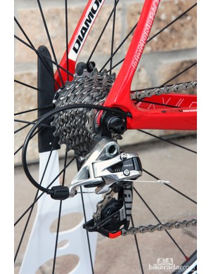 The Diamondback Podium 7 will also be available with SRAM's latest Red group