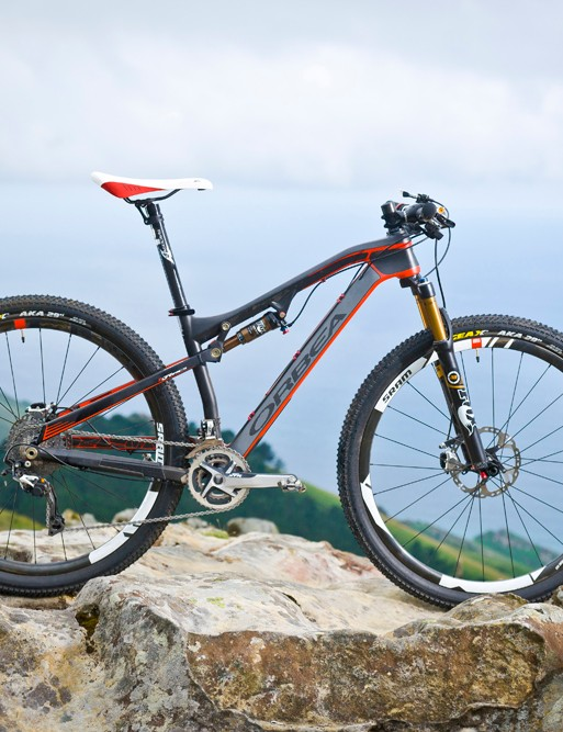 The Occam is a trail bike designed for marathon adventures