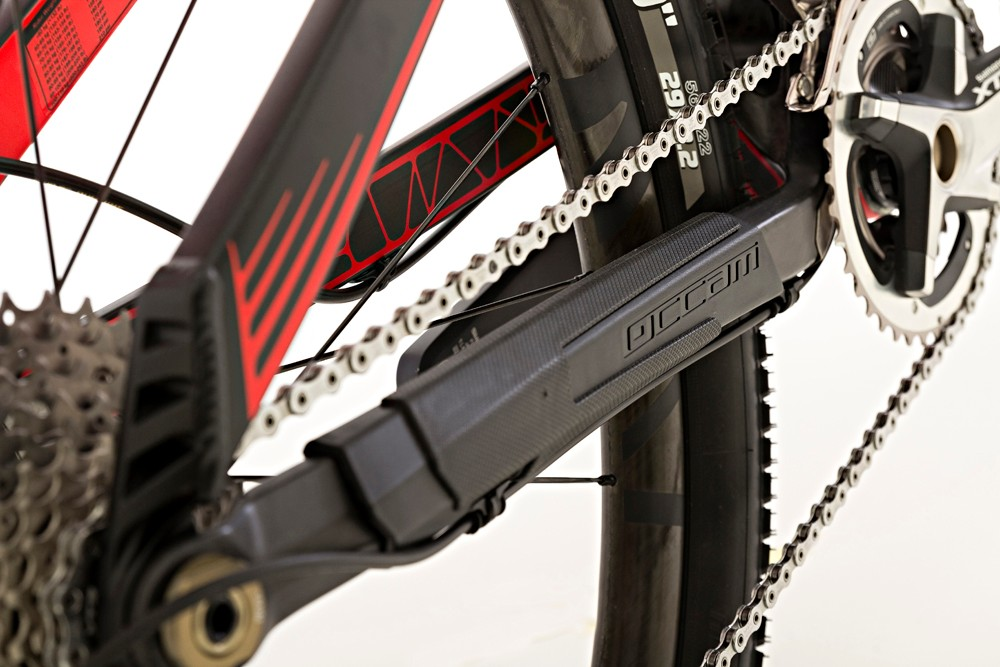 Branded protection for the carbon chainstay