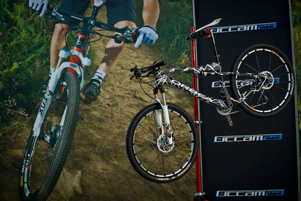 Orbea revealed the new Oiz prototype at their Occam 29er launch