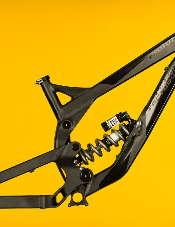 Adjustable chainstay length is a key feature of the Nukeproof Pulse