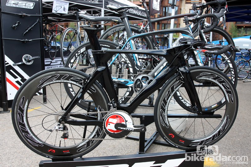 BH showed off a prototype of their new Aero time trial/triathlon frameset at this year's DealerCamp event