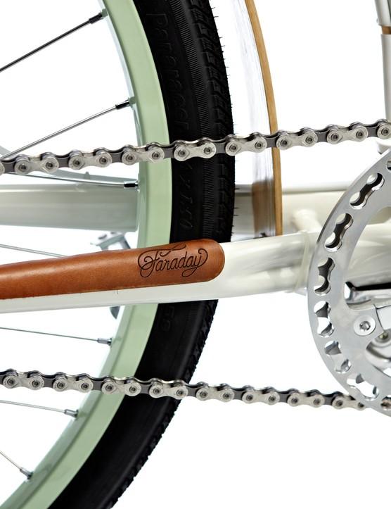 Custom aluminum chainguard