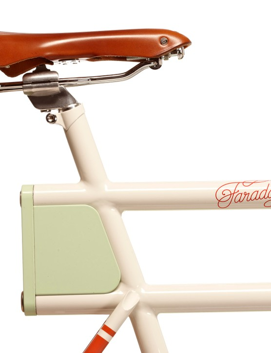 A Brooks B17 saddle comes stock