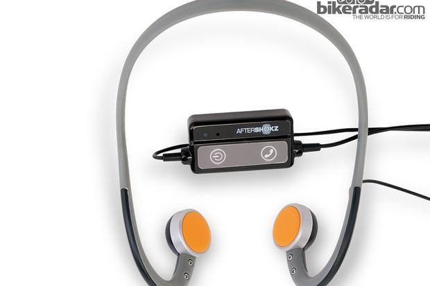 AfterShokz bone conduction headphones (the Mobile version)
