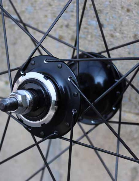 V-Sprint rims are manufactured in Taiwan but hand-built in the UK using products from the likes of Sapim (spokes) and Miche (hubs)