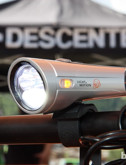 Amber side markers provide extra visibility on Light & Motion's new Taz range