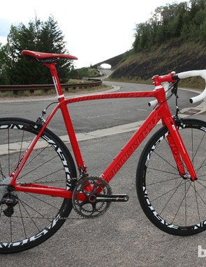 The Diamondback Podium 7 Super Record is an impressive flagship from a company not generally known for road bikes
