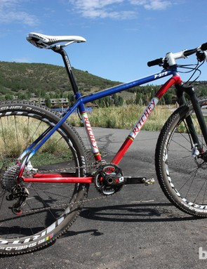 Ritchey is launching a new 27.5in-wheeled steel hardtail for 2013 called the P-27.5