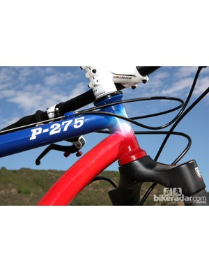 The integrated head tube on the new Ritchey P-27.5 is borrowed from the P-29 and SwissCross - both of which can't be kept in stock according to Ritchey