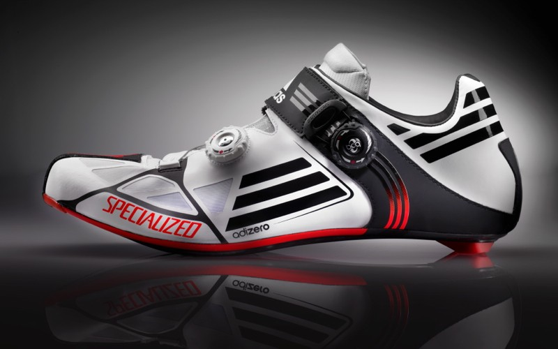 The Sonic shoe is a partnership between Specialized and adidas