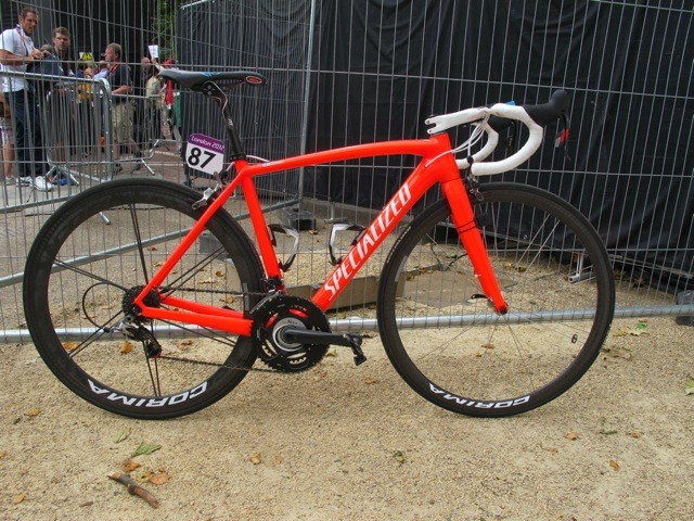 Vinokorouv rode a 52cm Tarmac to an Olympic gold medal