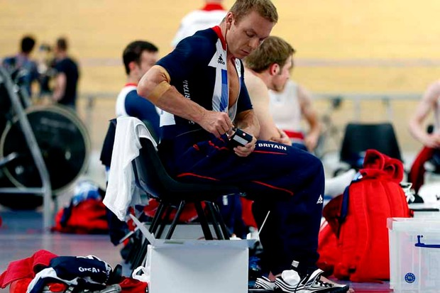 Adidas's ADIPOWER 'hot pants' are being used by sprinters such as Sir Chris Hoy