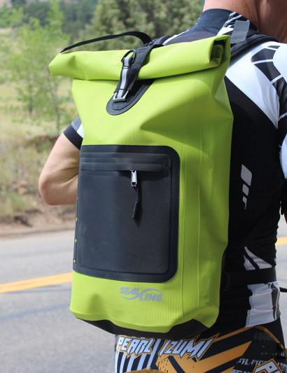Like a giant lunch sack, the Urban Backpack features a single, simple pouch