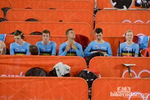 The Belgians in their zone