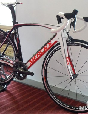 This standard build using Ultegra Di2 and Fulcrum Racing Quattro's will retail for £4499