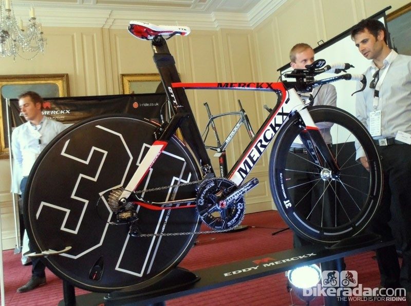 The ETT time trial bike certainly seems to make an impression