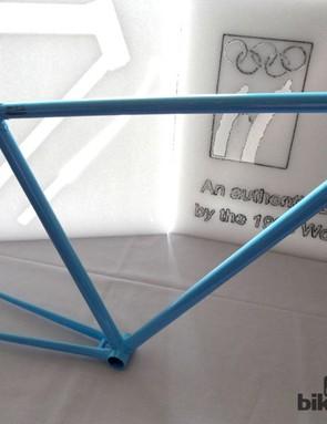 The Black Eagle frame is handbuilt in Belgium