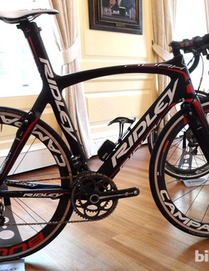 Ridley's brilliant Noah Fast is now available with Campagnolo Record EPS for £8220 (with the Dura Ace Di2 model £9130)