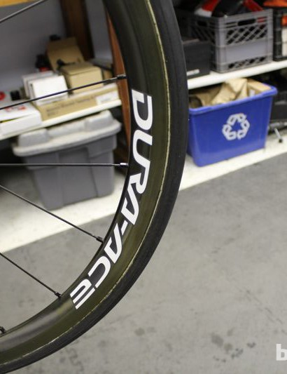Duffy is bringing two sets of Shimano wheels to London