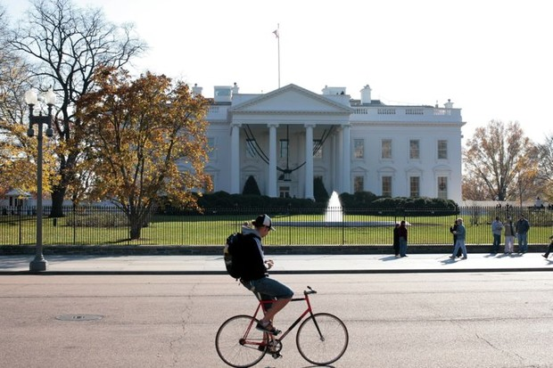 Cycling in Washington, D.C. is almost never on roads without cars