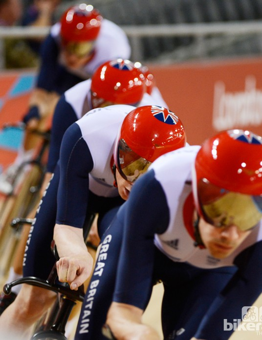 Team GB's helmets are the result of a three-year project with Crux Product Design