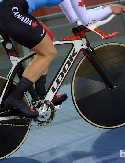 Unlike Team GB, most other nations use a mish-mash of bikes, often from trade teams or individual sponsors
