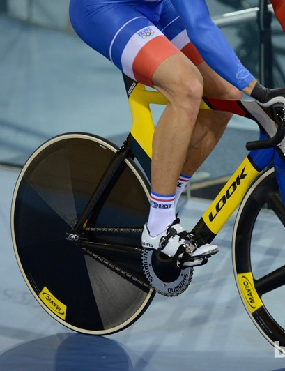 French riders are on French brands - Look and Mavic