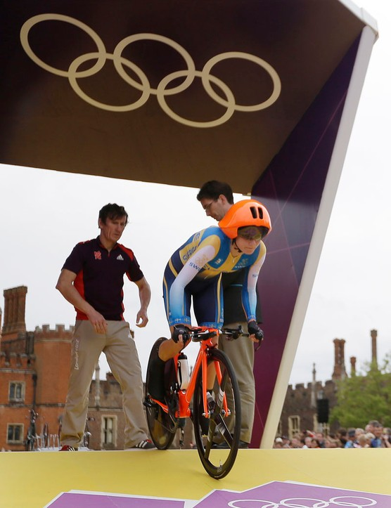 Emma Johansson used a POC Tempor during the Olympic women's time trial