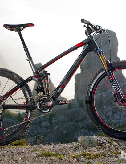 Even lower standover height and longer travel pinnacle a completely redesigned Trek Fuel EX 9.9, making it even more mountain able for 2013