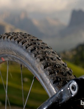 New Bontrager XR3 tyres are more than mountain capable and fast rolling, but get lively in the mud