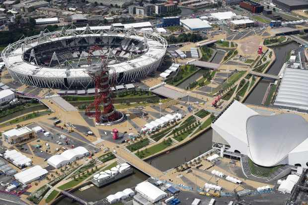 The incident occurred close to the Olympic Park at around 7.45pm on Wednesday