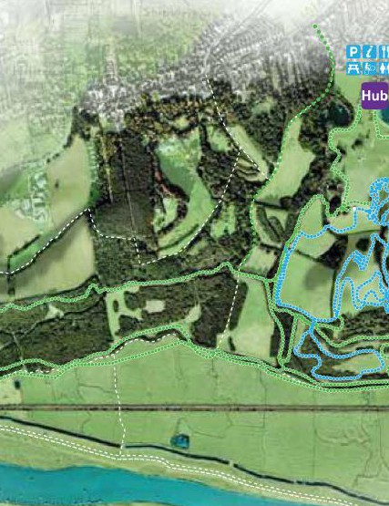 Plans show the current mountain biking loop will be adapted while extensive building throughout Hadleigh Park will make it suitable for mountain bikers of all abilities