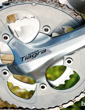 Shimano Tiagra 10-speed is reliable and smooth