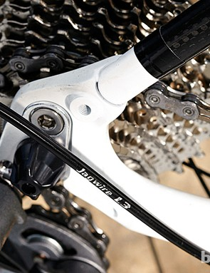 There are mudguard and rack mounts, making the GranFondo a versatile choice