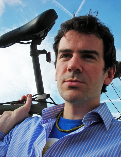 Raising the standards: Simon Nash of Green Oil, producers of eco-friendly bike care products