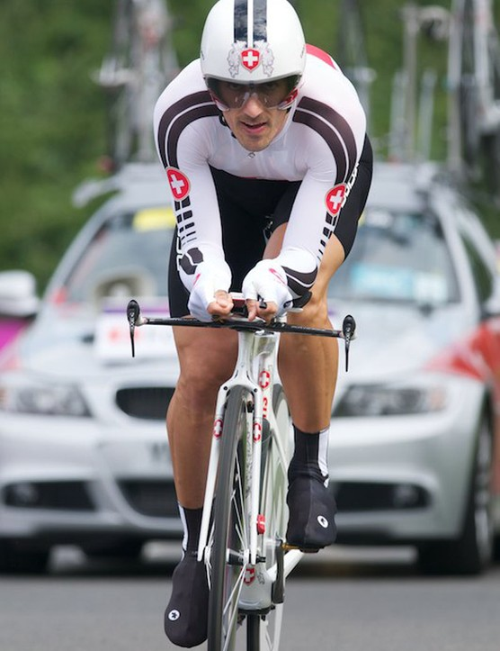 Fabian Cancellara of Switzerland - style to the max