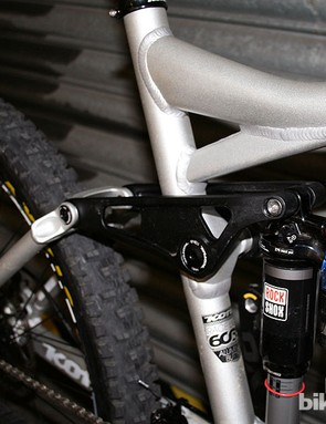 RockShox Monarch Plus HV RC3 rear shock on the Kona Process DL