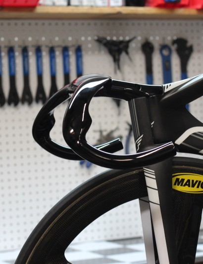 Felt's Bayonet fork tucks neatly into the TK1 frame