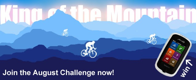 Join our latest BikeRadar Training Challenge for your chance to win a Mio Cyclo 305 HC