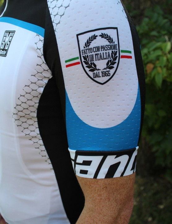 The Iro jersey features generously long but snug sleeves