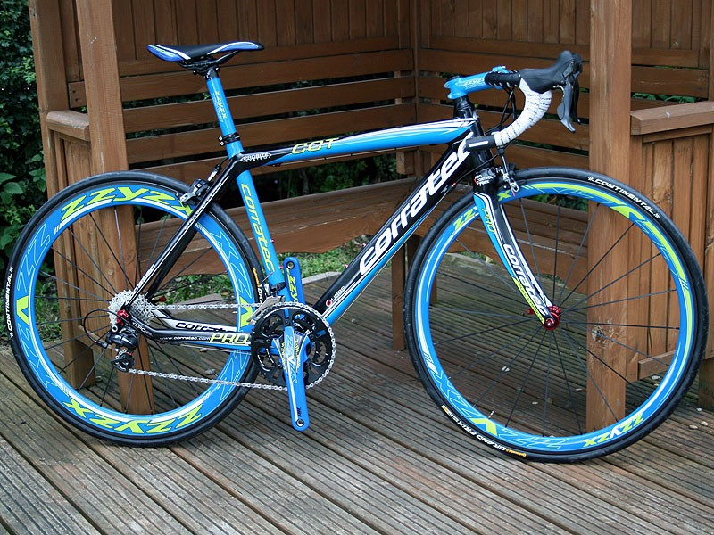 Corratec's top-end Pro CCT frame is a claimed 500g lighter for 2013