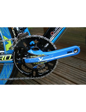 The new Shimano Dura-Ace 9000 groupset will be supplied with the Pro CCT bike when it becomes available