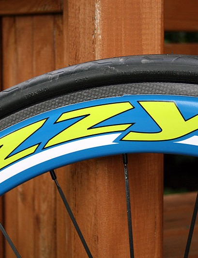 The all-carbon Zzyzx rims weigh a claimed 1,400g