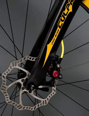TRP discs and 58mm carbon clinchers