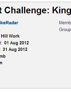 Our August Challenge – how are those climbing legs feeling?